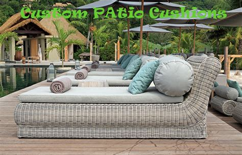 Custom Made Patio Furniture Cushions with Outdoor Furniture Patio Cushions Custom Made Manufacture