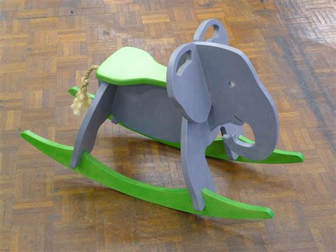rocking elephant  steps  pictures