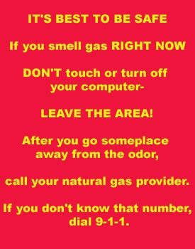 What To Do If You Smell Gas In Your House by A Sight I Will Never Forget What To Do If You Smell
