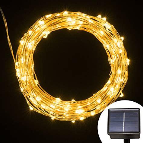 micro solar lights solar powered string light kohree 120 micro leds light