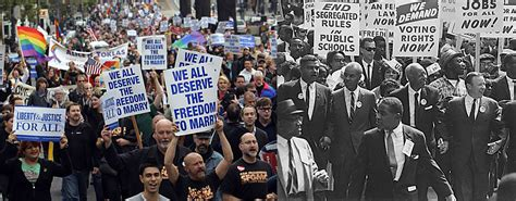 The Movement is the rights movement similar to the civil rights