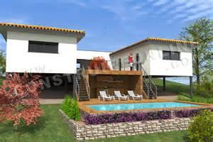 exceptional Maison Moderne Avec Piscine #1: plan-maison-moderne-piscine-ORCHESTRA.jpg