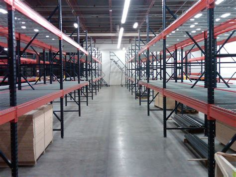 Warehousing Racks by Pallet Rack And Wire Decking In Stock Greensboro Nc