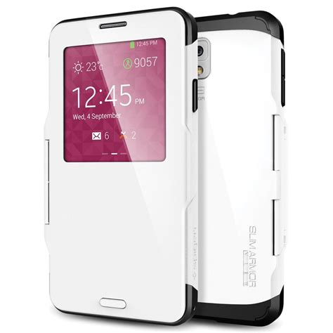 Sgp Slim Armor View spigen galaxy note 3 slim armor view smooth white