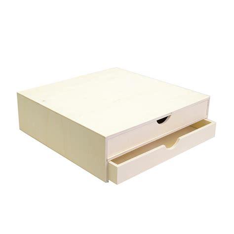 support 224 d 233 corer en bois bloc avec deux tiroirs 34 5