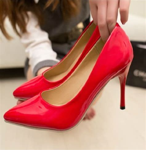 womens high heels with bottoms new 2015 pointed toe bottom high heels