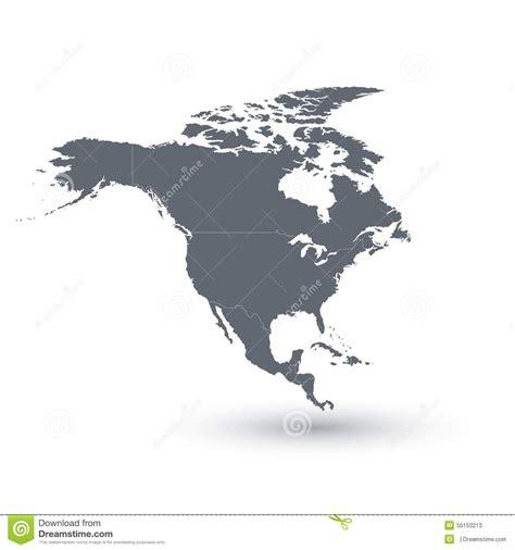 map of america vector america map vector illustration stock vector