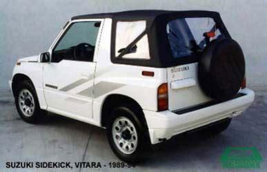 1988 94 geo tracker, chevrolet tracker convertible tops