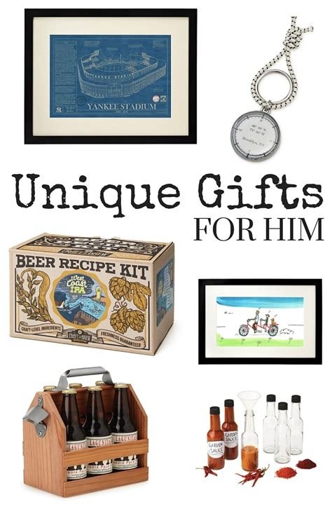 unique gifts for men unique gifts for him typically simple