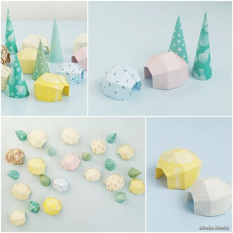 How To Make Paper Igloo - meeha meeha diy advent calendar igloo
