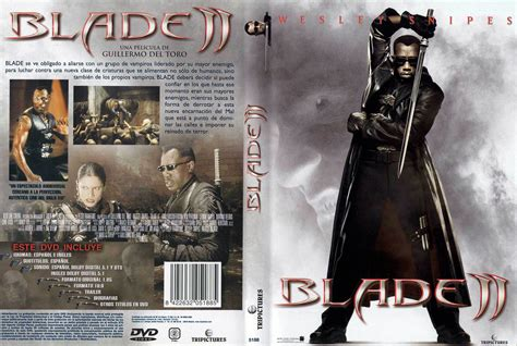 Pc Dvd Blade car 225 tula caratula de blade ii caratulas