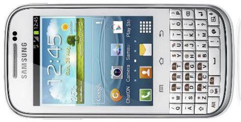 Handphone Samsung Chat harga samsung galaxy chat duos hp android qwerty samsung