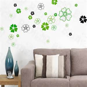 Home Decor Dropship by Wholesale Bulk Dropshipper Green Petals Large Wall