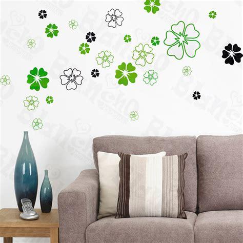 wholesale bulk dropshipper green petals large wall