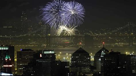 new years san francisco bay area rings in 2016 with spectacular fireworks show