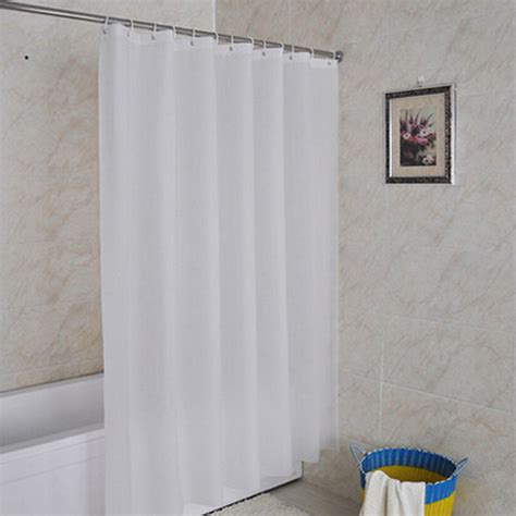 waterproof fabric shower curtain 180cm white shower curtain waterproof fabric bath curtain