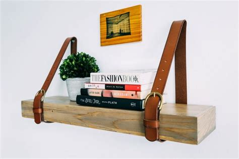 best 25 leather shelves ideas on