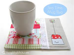 Mug rugs are all the rage these days but i ve yet to make one