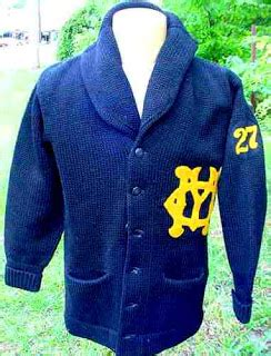 College Letter Sweater thrift score and more vintage shawl collar sweaters