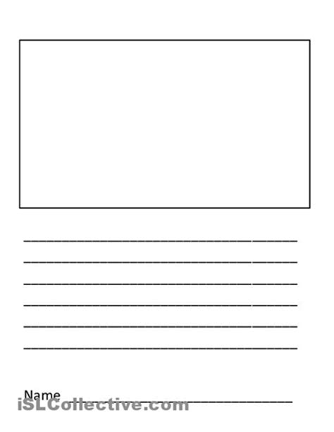 writing template 5 best images of blank writing worksheet printable