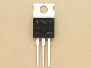 Tr Irf540 N To220 Power Mosfet mosfets sunrom electronics technologies