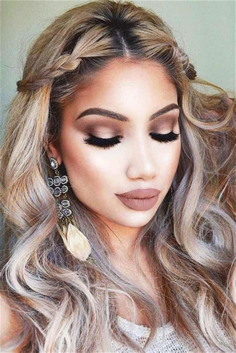 hair and makeup looks 20 best valentine s day face eye makeup ideas looks