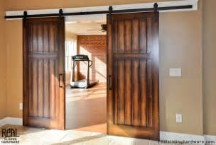 hardware for sliding barn doors barn door hardware collection on ebay