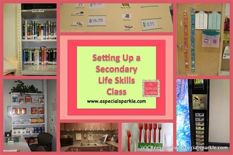 special education room setup a special sparkle setting up a secondary skills class