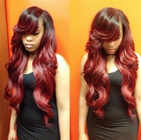 red weave bob 17 best beautiful weaves images on pinterest hair ideas
