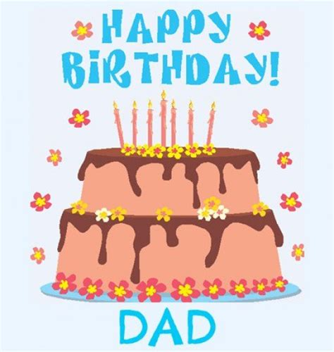 printable birthday cards dad printable birthday cards for dad from son