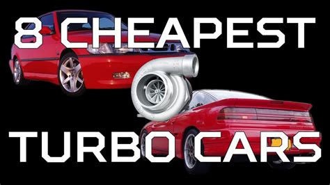 Stock Turbo Cars by 8 Cheapest Turbo Cars