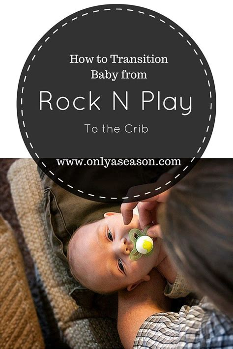 how to transition baby from the rock n play to the crib