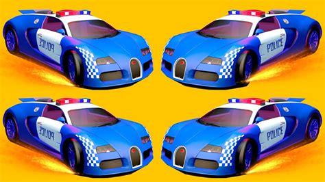 mobil polisi anak kecil mobil polisi mainan anak kartun