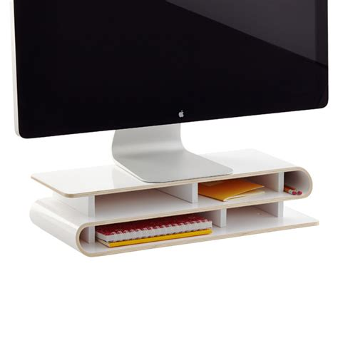 white desk organizer white up rise desktop organizer the container store
