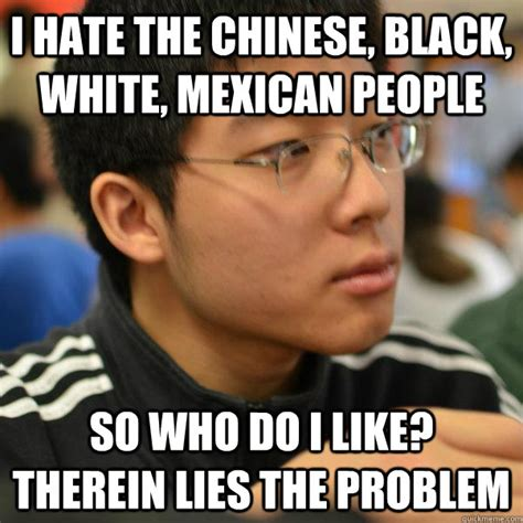 Chinese People Meme - angry racist chinese kid memes quickmeme