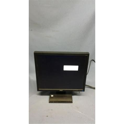 Monitor Lcd Acer V173 acer 17 quot v173 djob lcd monitor 1280 x 1024 resolution 4