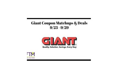 giant food coupon matchups md