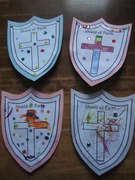 faith crafts for shield of faith craft ministry 2
