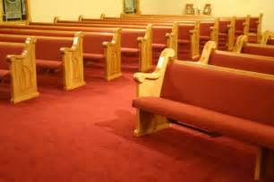 benches in a church pew buying process