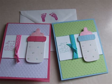 Handmade Baby Card Ideas - 21 best images about baby shower invites on