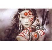 Realistic Women Luis Royo Fantasy Art Brunette