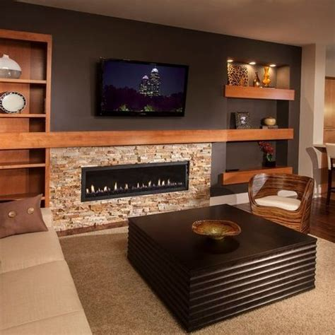 25 best ideas about basement fireplace on