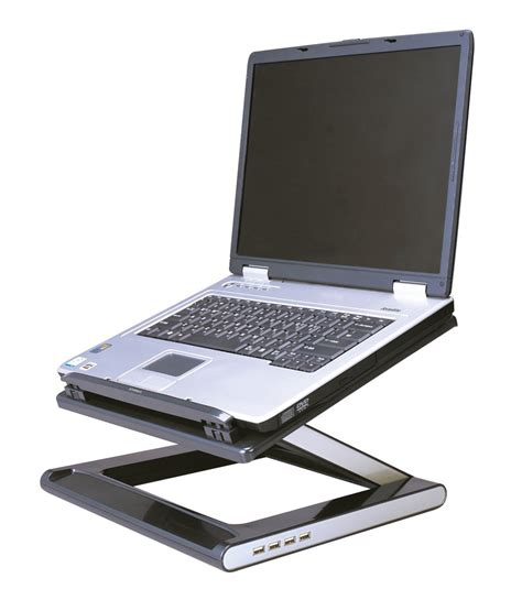 desk for laptop with fan standing laptop desk decofurnish