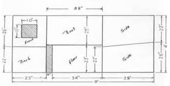 one sheet plywood dog house ukc forums dog house plan