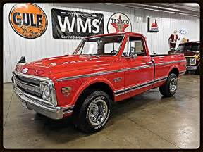 chevrolet 69 truck 69 1 2 ton 2wd bed v8 show classic truck vintage