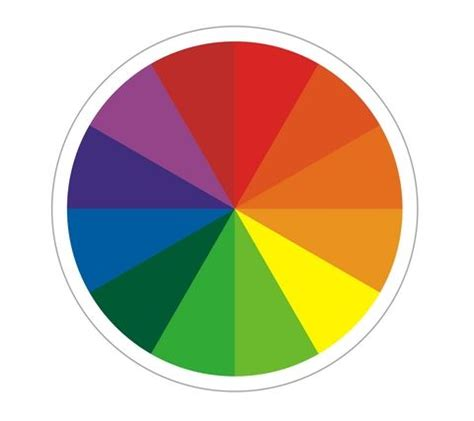make your own color wheel and color chart a and educational activity for introduce