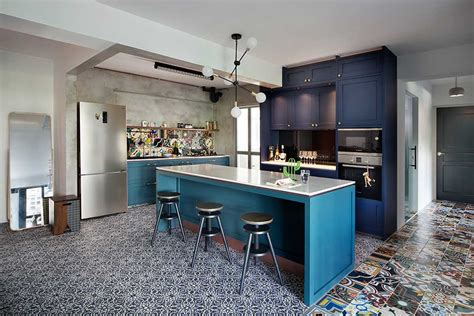 high rise kitchen table a stunning hdb transformation to get inspired by squarerooms