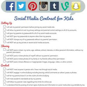 children s contract template free printable contracts for and teenagers imom