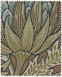 wandle textil tapet 81521 morris seaweed silver ecru fr 229 n william