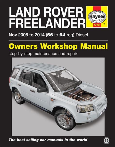car repair manuals online free 1991 land rover sterling seat position control haynes workshop repair manual land rover freelander diesel nov06 14 56 to 64 ebay